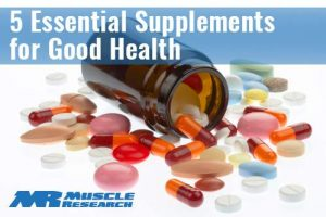5 essential supps for good health