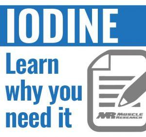 Importance of Iodine