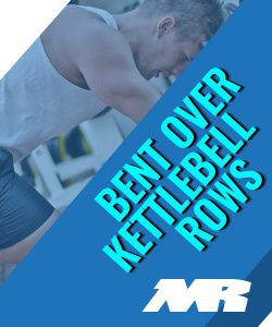 bent Over Kettle bell Row