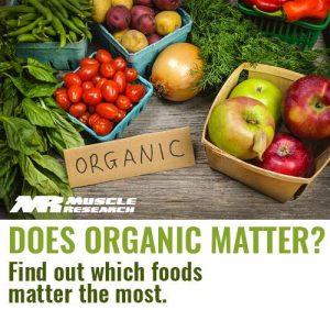 Does Organic Matter?