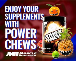 Enjoy Your Supplements With Power Chews
