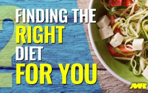 finding The Right Diet For You