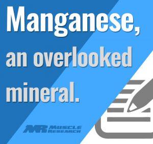 importance Of Manganese