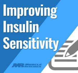 improving Insulin Sensitivity