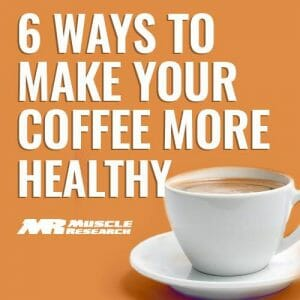 make your Coffee Healthy