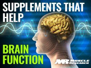 supplement To Improve Brain Function