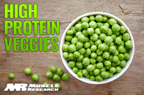 vegetable High In Protein