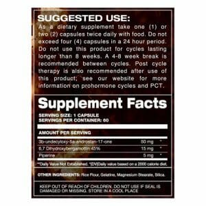 Super Epi-Andro Supp Facts