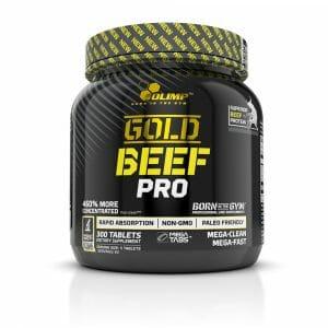 Gold Beef Pro Mega Tabs