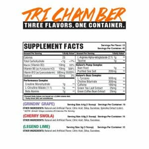 Vice Tri-Chamber OG Supp Facts