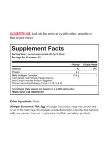 Multi Collagen Supplements
