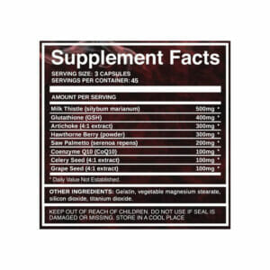 Advanced Cycle Support Supp Facts Update
